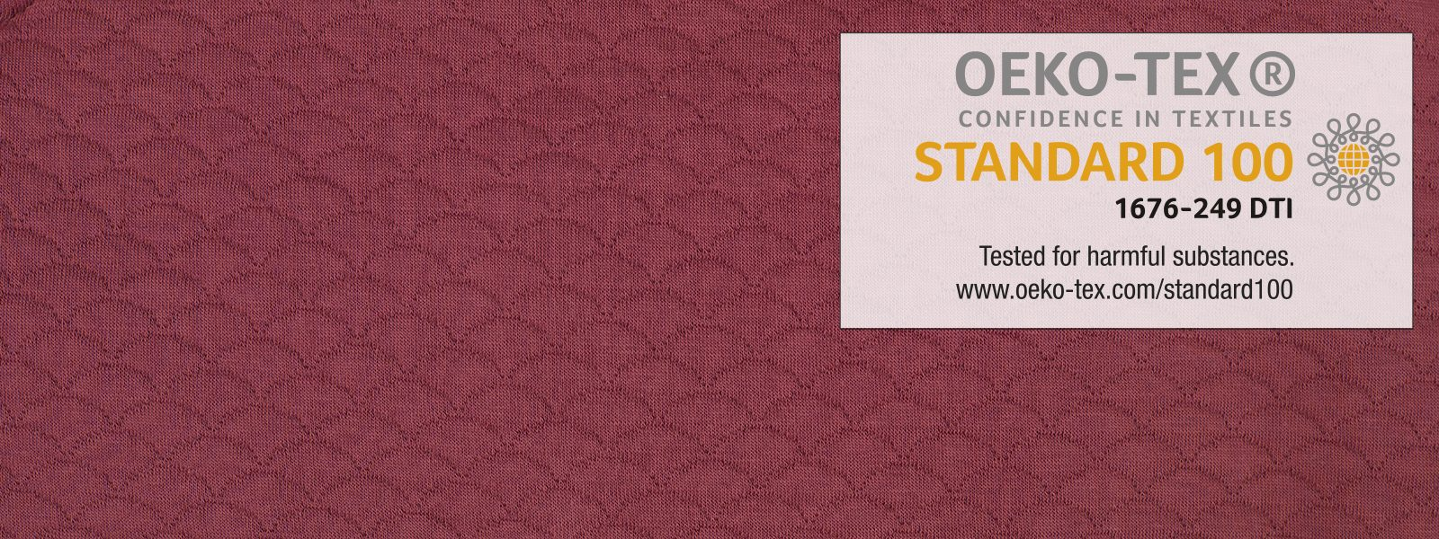 Textile safety and OEKO-TEX® certification