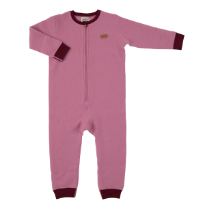 Voksi Wool Jumpsuit Double Fleece Rose
